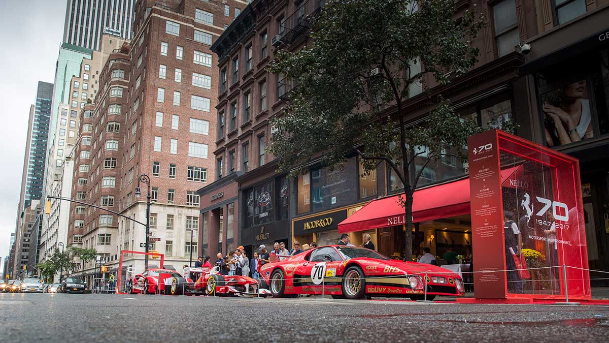 Rise & Set Agency - Ferrari 70th Anniversary 1