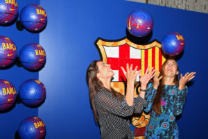 Atmosphere at the FC Barcelona fundraiser