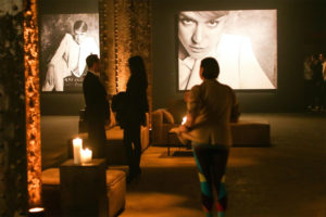 ABSOLUT ELYX Integrity Campaign people in art gallery